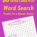 My 1st art topic Word Search