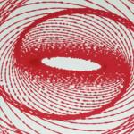My red pendulum painting